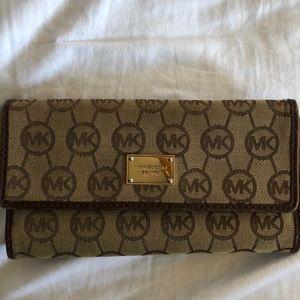 Michael Kors monogram wallet